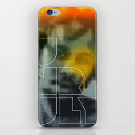 Unruly iPhone Skin