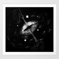 Birth of a Universe Art Print