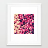 peonies Framed Art Prints featuring Peonies by Sasha H