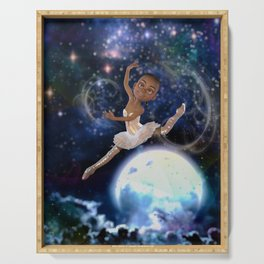 The Moon Dancer Serving Tray