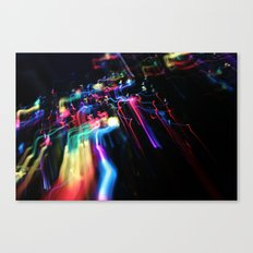 Wired Rainbow Canvas Print