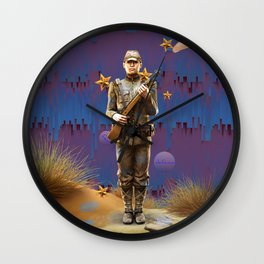 The Loyal Soldier. Wall Clock