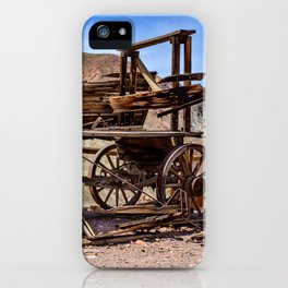 Calico Ghost Town - 7062, California iPhone Case