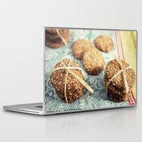cookies Laptop & iPad Skins featuring Cookies by Leonor Saavedra