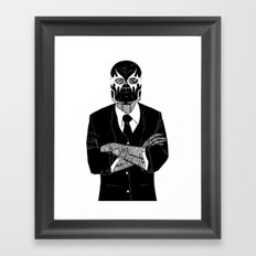 SOLAR SQUAD MAN 2 Framed Art Print