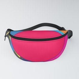 Abstract modern print Fanny Pack