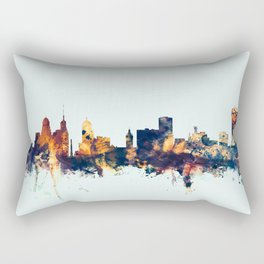 Buffalo New York Skyline Rectangular Pillow