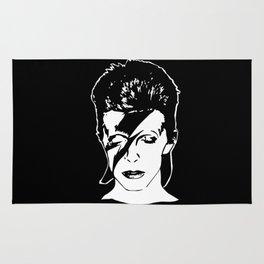 David Starman Ziggy Bowie Rug