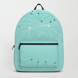 LIGHT LINES ENSEMBLE IX TURQUOISE Backpack