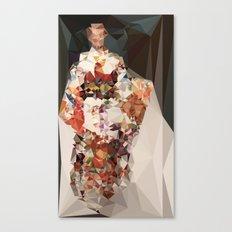 polygonal kimono impress Canvas Print