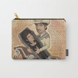 Bob Dylan - Find Out Something Only Dead Men Know Carry-All Pouch