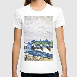 Alfred Sisley - Molesey Weir, Hampton Court T-shirt