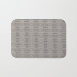 Elegant Gray Geometric Southwestern Pattern - Luxury Bath Mat