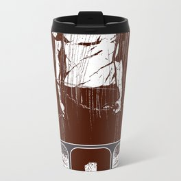 and he rode out as a conqueror bent on conquest Metal Travel Mug