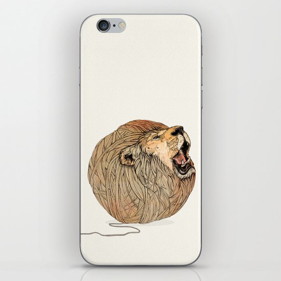 Unravel Me iPhone & iPod Skin
