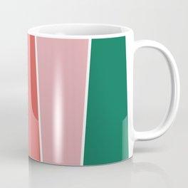 Summer Garden Color Block Coffee Mug