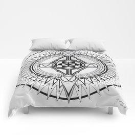 Element Mandala Comforters