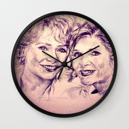 Debbie & Daughter Wall Clock