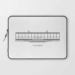 Mies - A is for Architecture Laptop Sleeve