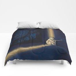 Dark Side Of Me Comforters