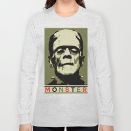 Monster (Boris Karloff) Long Sleeve T-shirt