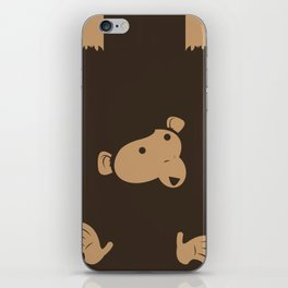Hanging Monkey iPhone Skin