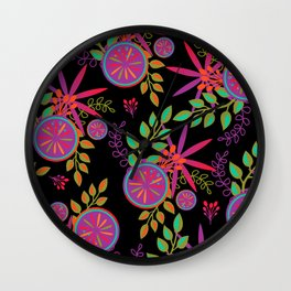 Funky Fruit Garden Wall Clock