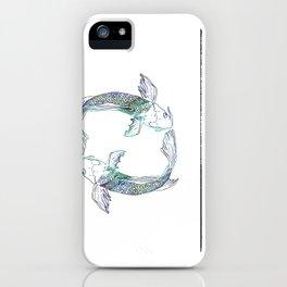 Pisces Swim iPhone Case