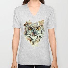 Owl II Unisex V-Neck