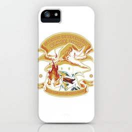 Strong Independant Black Mage iPhone Case