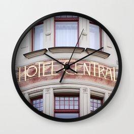 Art Nouveau Treasures - Hotel Wall Clock