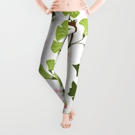 tree leaves #762 Leggings
