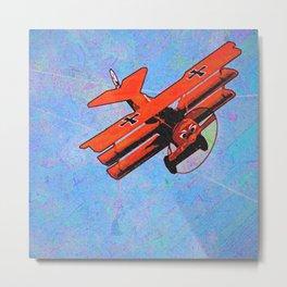 Fokker triplane V2 Metal Print