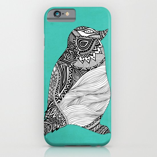 Tribal Penguin iPhone & iPod Case