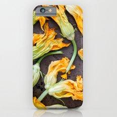 Zucchini Blossoms Slim Case iPhone 6s