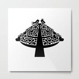 Lovetree Metal Print