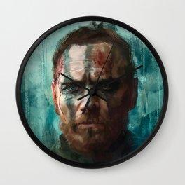 Macbeth - Michael Fassbender Wall Clock