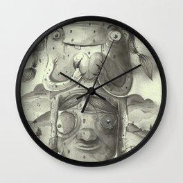 Friends in love Wall Clock