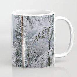 Freezing Oslo Mountains Coffee Mug