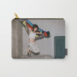 Girl in Mid-Air Carry-All Pouch