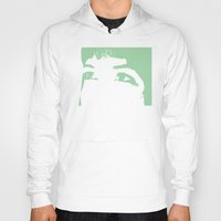 melissa smith Hoodies featuring Melissa Eyes by JRBM