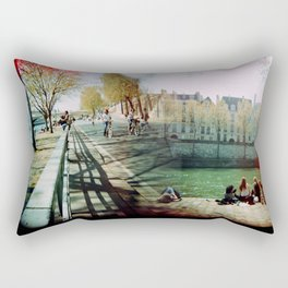 Paris in the Spring Time 2 Rectangular Pillow