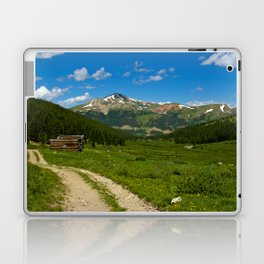 Tenmile Mountain Range from Mayflower Gulch Laptop & iPad Skin