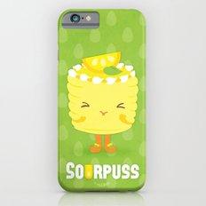 Sourpuss Lemon cake iPhone 6s Slim Case