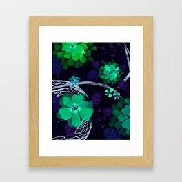 Flora Queen Framed Art Print