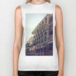 French Quarter Balconies - Royal Street Biker Tank