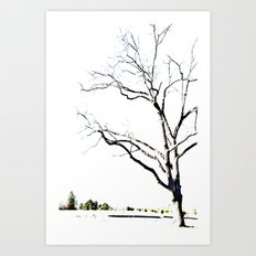 The Etching Art Print