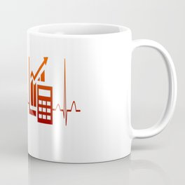ACCOUNTANT HEARTBEAT Coffee Mug