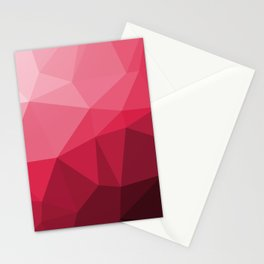 50 Shades of Red (3D) Stationery Cards