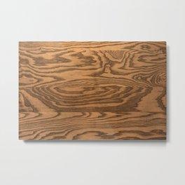 Wood Grain 5 Metal Print
